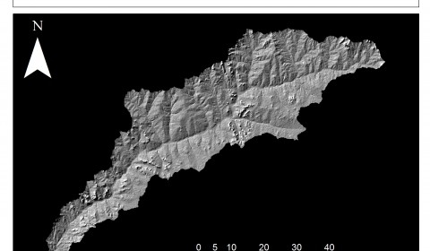 kontagora hillshade map nigeria gisystematix elevation model