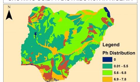 nigerian soil ph map gisytematix in gallery